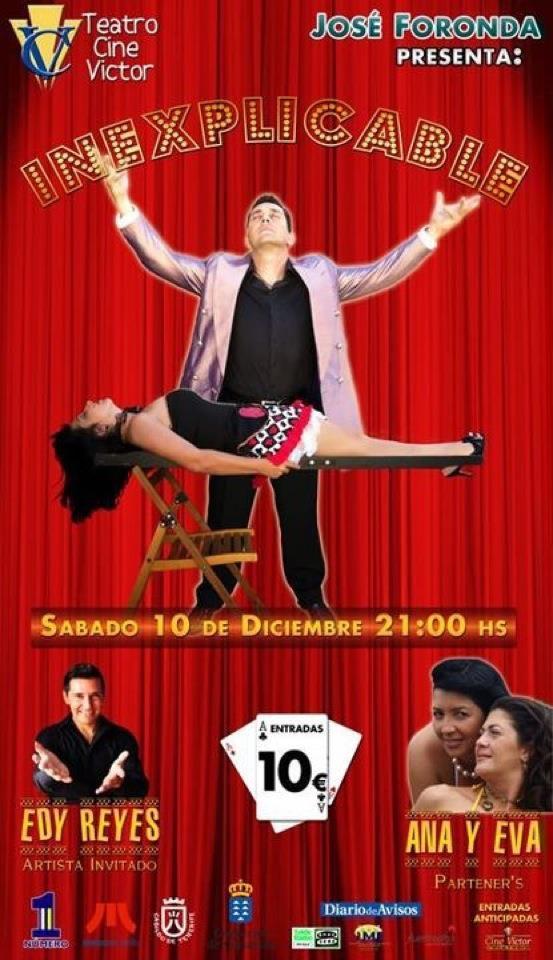 Magia en teatros con el Mago Jose Foronda