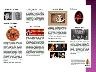 gala benefica la laguna teatro leal 2013